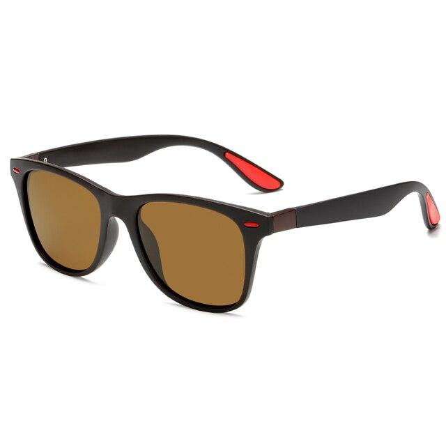 Polarized sunglasses Unisex Square Vintage Sun Glasses Famous Brand Sunglases polaroid Sunglasses retro Feminino For Women Men