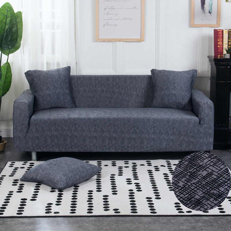 Bunga Stretch Sofa Cover Katun Elastis All-In Kursi Sudut Sofa Cover Sofa Covers untuk Ruang Tamu Hewan Peliharaan Copridivano