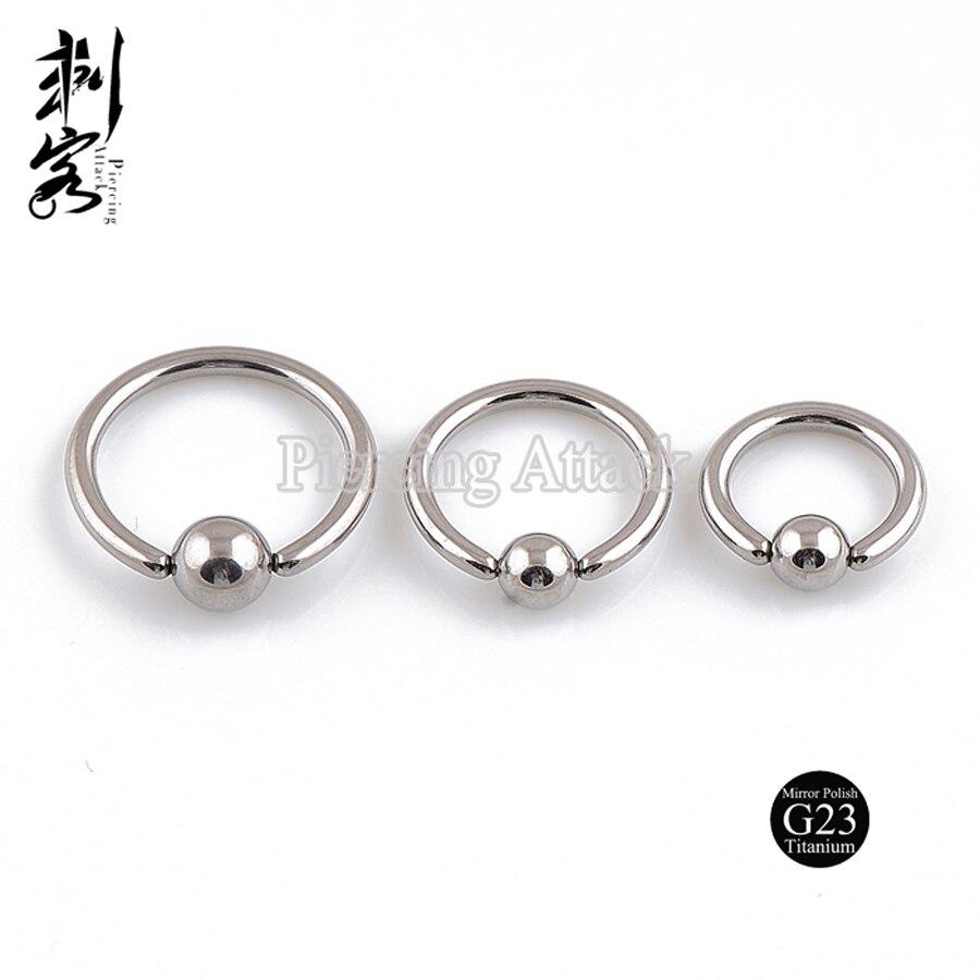 Anium Captive Ring Highly Polished