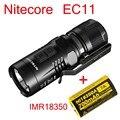 2015 Nitecore EC11 CREE XM-L2 U2 LED 900 Lumens lampe de poche étanche torche de recherche de sauvetage + batterie IMR18350 700 MAH