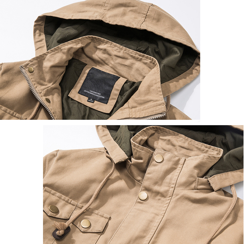 LetsKeep New Jersey xhaketë bombe ushtarake burra taktike ushtarake - Veshje për meshkuj - Foto 4