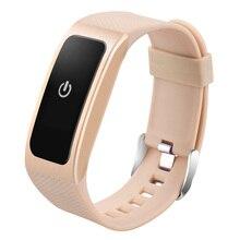 Приборы для измерения артериального давления смарт-браслет с сердечного ритма Мониторы шагомер Фитнес трекер Bluetooth Смарт-браслет для iOS и Android телефон