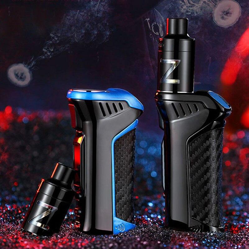 100 Вт комплекты электронных сигарет 3000 мАч стартовый комплект 2,5 Ом огромный дым мод коробка Электронная сигарета мл бак распылитель Vape ручк