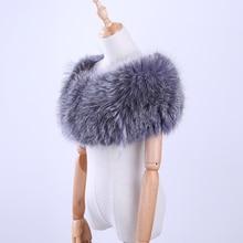Роскошный натуральный Лисий Мех полосатый ручной шитье эластичный размера плюс женский шарф накидка из пашмины меховой палантин вечерняя шаль пончо