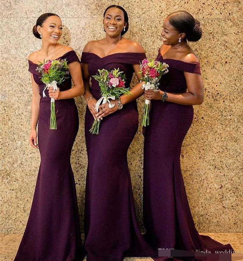 2019 South African Bridesmaid Dress Cheap Summer Country Garden Church Formal Wedding Party Guest Maid of Honor Gown Plus Size in Bridesmaid Dresses from Weddings Events