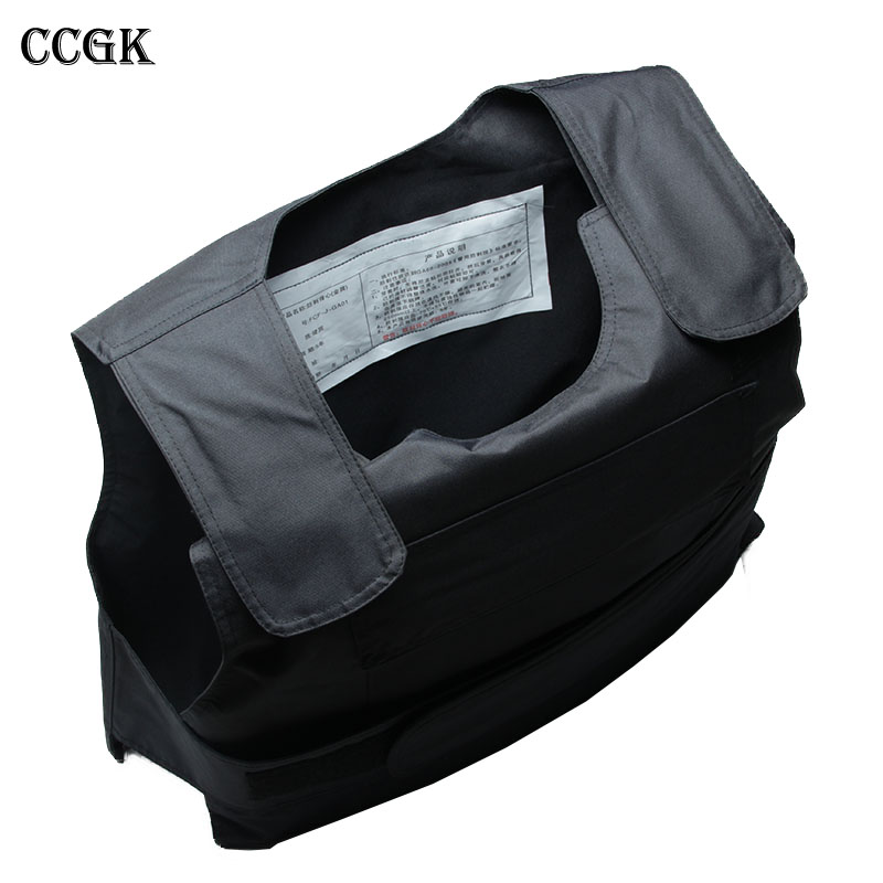 CCGK Bulletproof vest NIJ IIIA Soft Body Armor Kevlar Aramid Protect life safety The Actual War Military Protective clothing