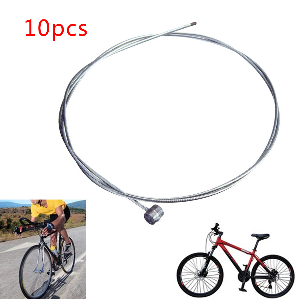 10x Road Bike Gear Bicycle Brake Line Shifter Core Inner Cable Wire US