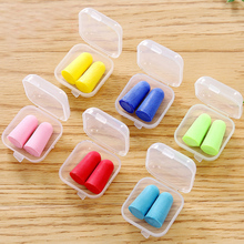6 Pair Anti-noise Soft Ear Plugs Sound Insulation Ear Protection Earplugs Sleeping Plugs For Travel Noise Reduction With Case new pluggerz travel sleeping earplugs anti snore earplugs anti noise swim ear plugs