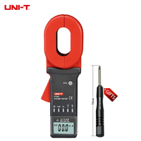 UT278A Ground Resistance Tester 4 Digitals LCD Display Clamp Ohmmeter UT 278A(WYX)