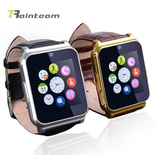 Bluetooth W90 1,5 zoll Sim-karte digital android smartwatch sport-armbanduhr für sony/samsung/lg/xiaomi telefon lederband