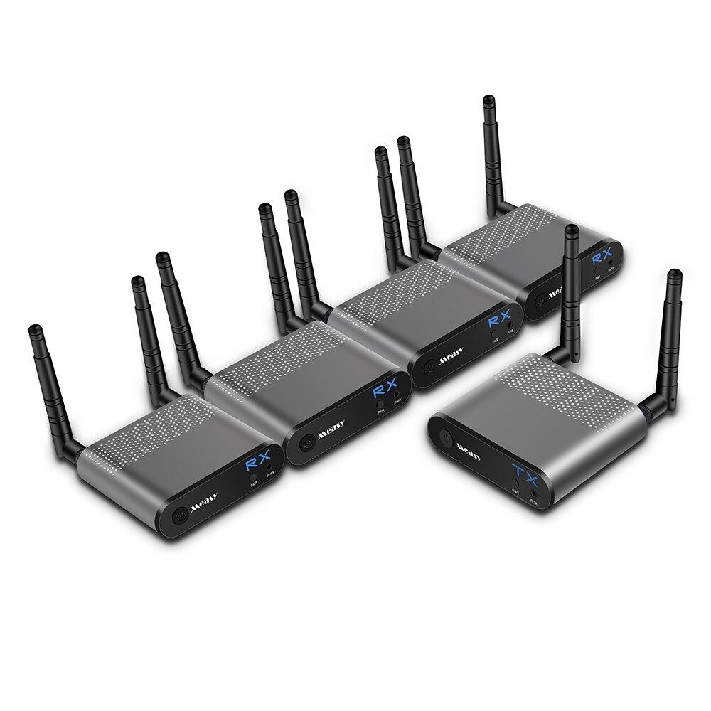 MEASY Air Pro4 sans fil HDMI transmetteur et récepteur prise en charge HD 1080 P 3D vidéo et Audio numérique à partir d'un ordinateur portable, PC, câble, Netflix