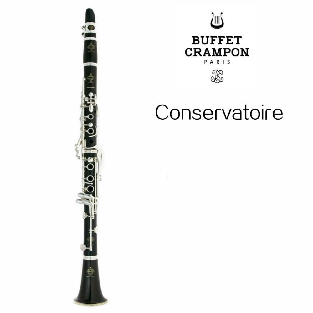 Buffet Crampon Conservatoire C12 Bb Clarinet Brand High Quality New Arrival Wood Tube 17 Keys Clarinet With Case Free Shipping