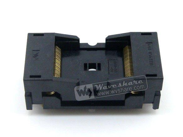 module TSOP56 TSOP 56 648-0562211-A01 Wells IC Test Burn-In Socket Programming Adapter 18.4mm Width 0.5mm Pitch