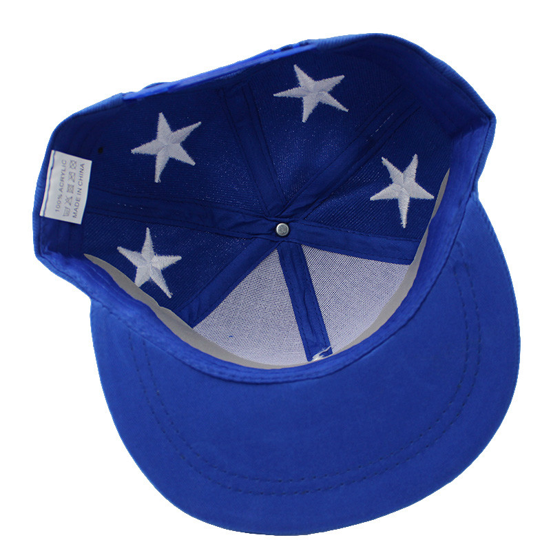 Embroidered Star Children's Snapback Cap - Inside View