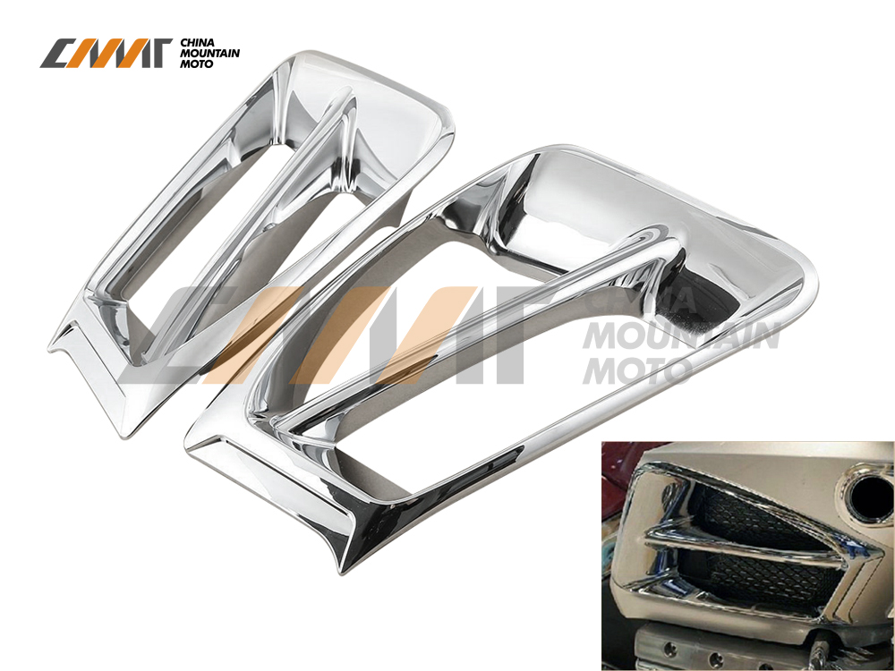 Air Exhaust Intake Accent Trim case for Honda Goldwing GL1800 2012-2016 2013 2014 2015 epman universal 3 aluminium air filter turbo intake intercooler piping cold pipe ep af1022 af