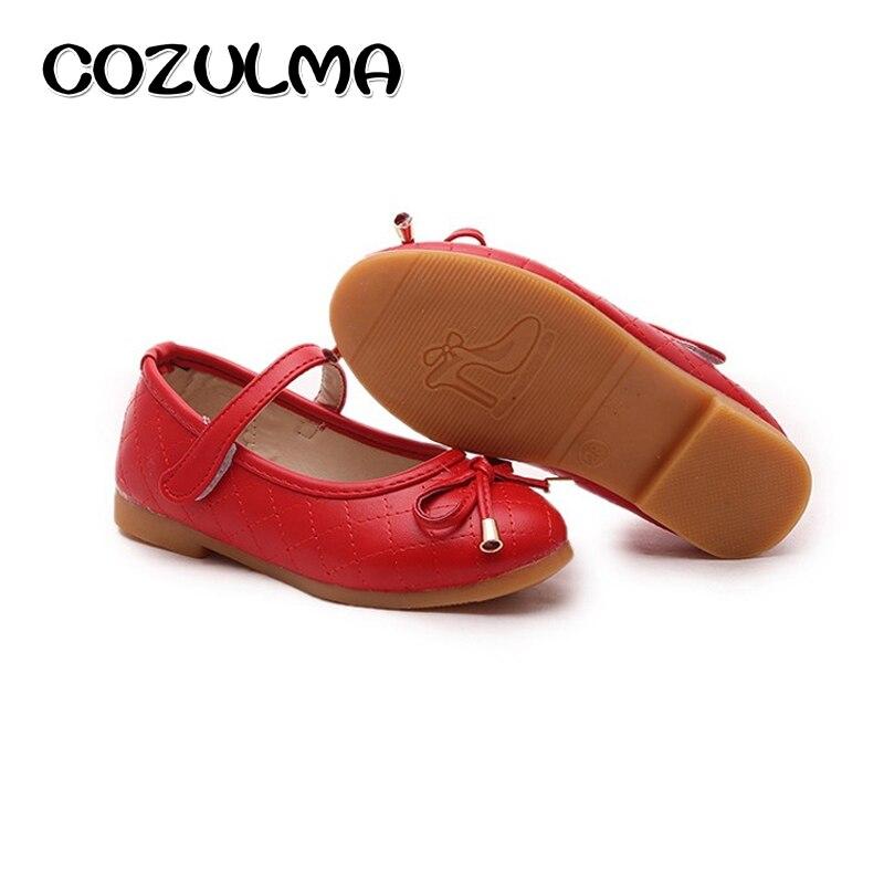 COZULMA Vaikai Priežastinė avalynė Merginos Princess Bow Batai - Vaikiški batai - Nuotrauka 2