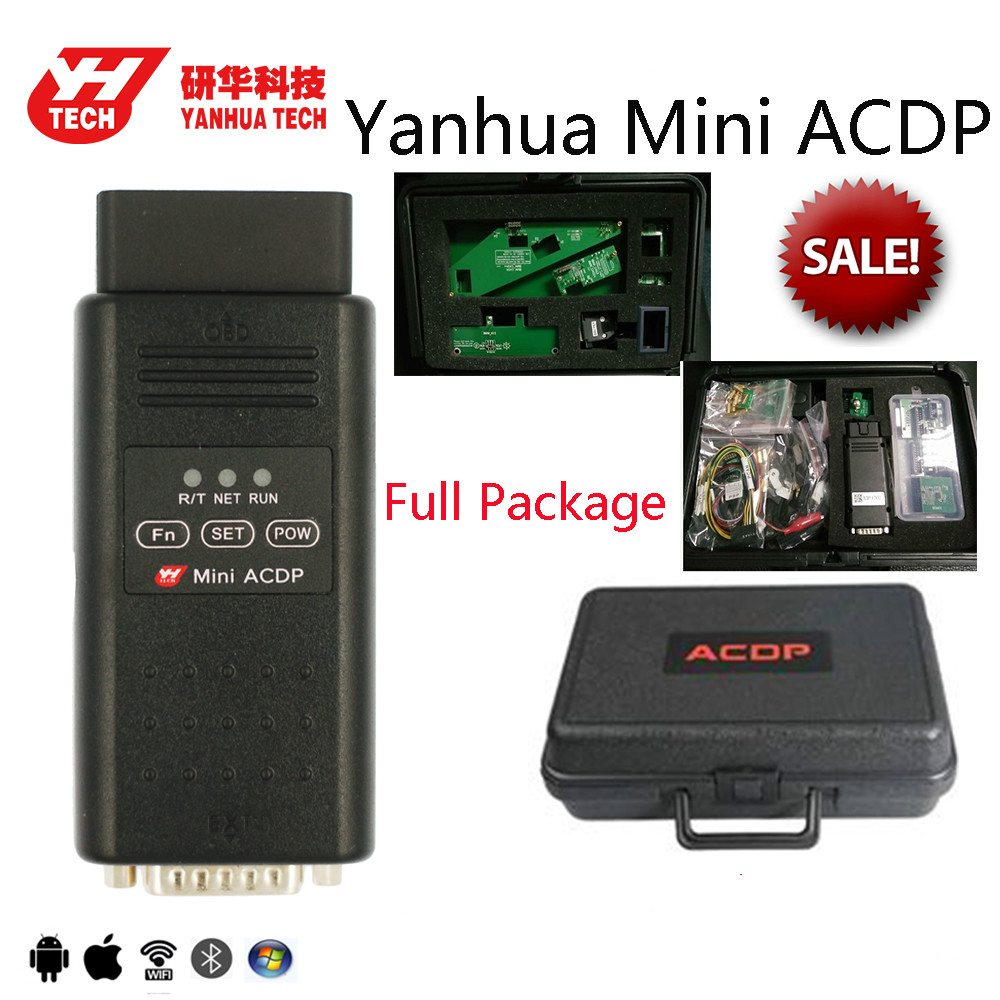 US $1399 0 |Yanhua Mini ACDP full modules for BMW CAS FEM BDC Key  Program/mileage reset DME ISN code refresh key FRM Footwell-in Code Readers  & Scan