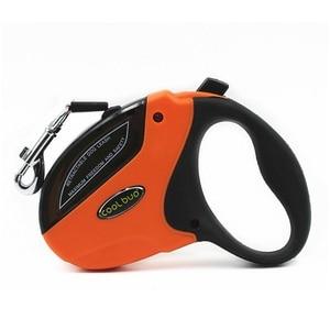 Image 5 - Laisse rétractable pour animaux de compagnie, en ABS, pour grands et moyens chiens, corde de Traction automatique, 5M, 50KG, laisse de luxe pour les promenades, moderne, HY080