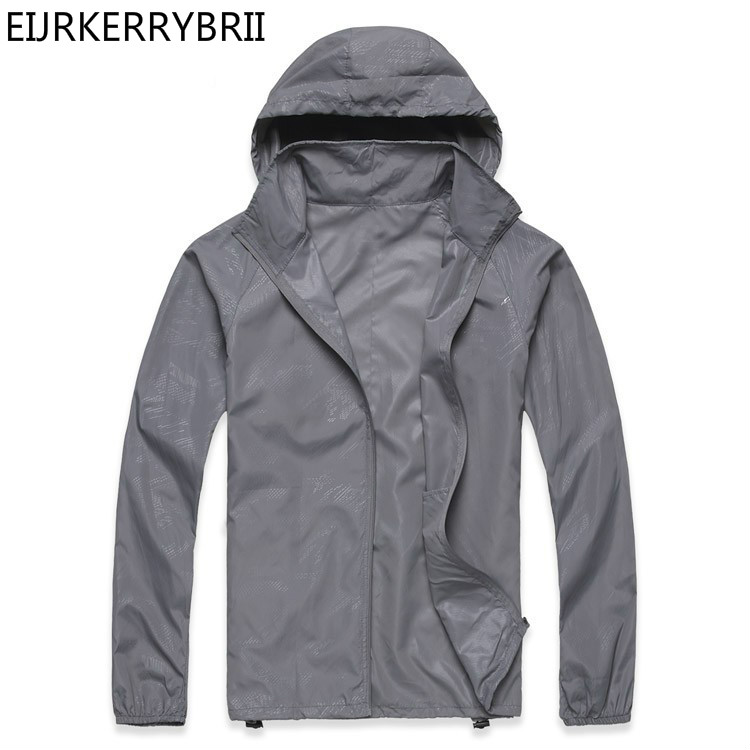 New 2018 New Summer Womens Mens Rain Jackets Coats Fashion High Quality Thin Casual Ladies Man ...