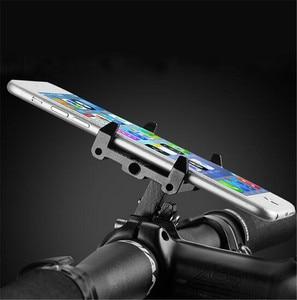 ROCKBROS велосипедный держатель для телефона MTB дорожный велосипед Руль подставка Регулируемый телефонный держатель кронштейн 3,5-6,2 дюймов смартфон