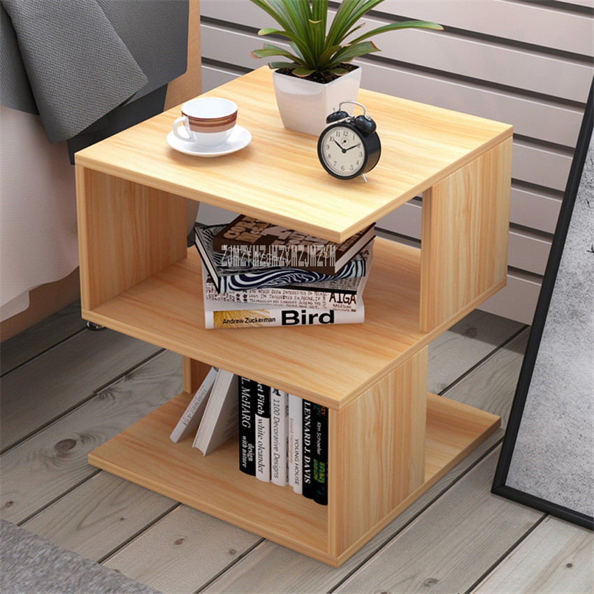 E571 Simple Modern Bedstand Home Furniture Night Table Living Room Bedside Cabinet Bedroom Nightstand Filing Storage Cabinet