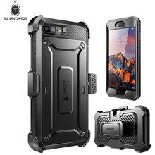 SUPCASE dla iphone 7 Plus Case UB Pro wytrzymały futerał na cały korpus futerał ochronny z wbudowanym ochraniaczem ekranu