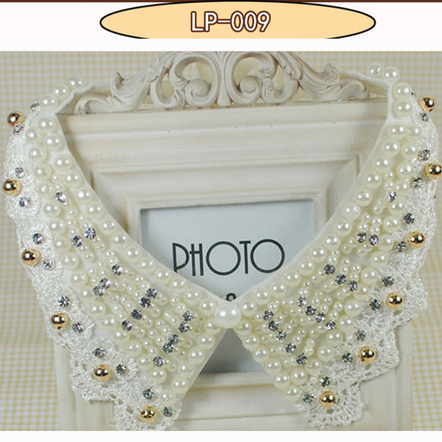 2017 accessories jewelry new rhinestone collar false jewelry necklace beads fashion collar choker vintage style crystal jewelry 1