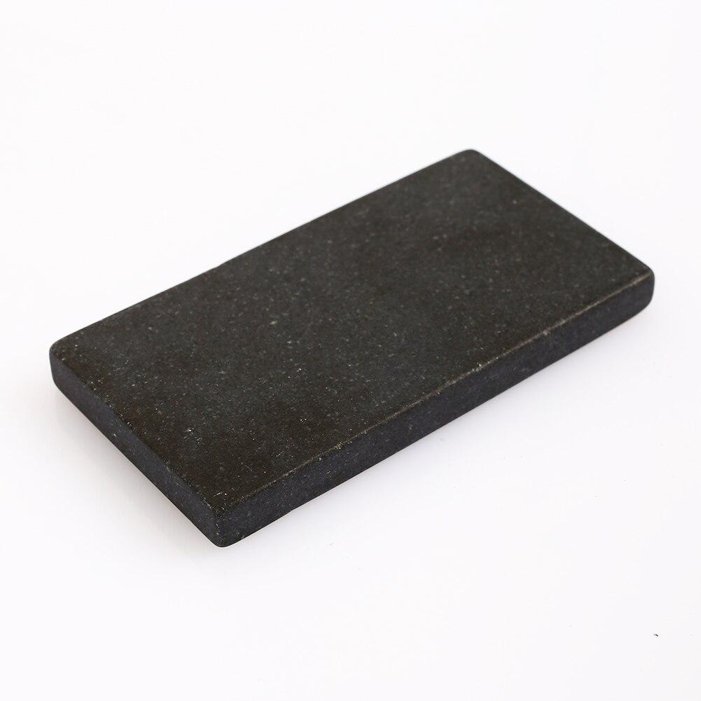 Золотой тестовый камень Touchstone, золотой тестовый инструмент, ювелирный производитель, тест на чистоту золота, портативный метеорит, сланец, практичный - Цвет: high quality