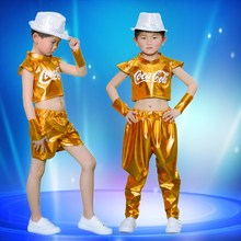 Boy Jazz Dance Costume for Stage Performance Child Girl Hip Hop Dance Clothing Street Dance Waer DJ/DS Dance Outfit Show Cloth