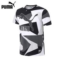 Original New Arrival 2017 PUMA Archive Logo Tee AOP Men S T Shirts Short Sleeve Sportswear