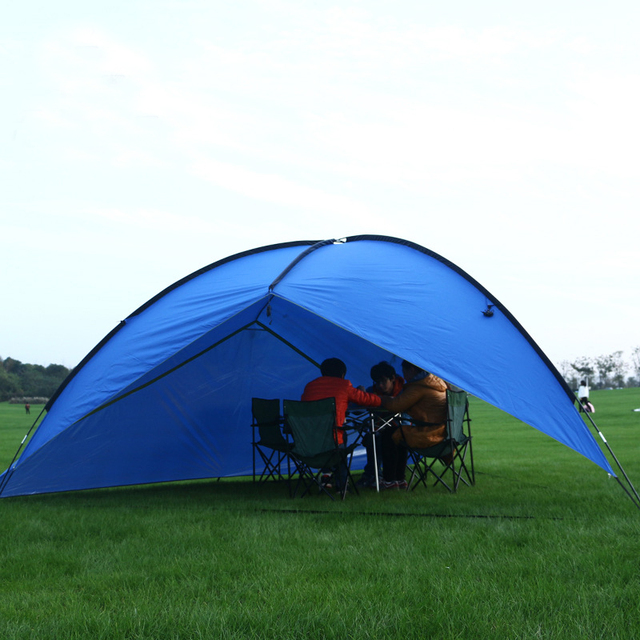 480 * 480 * 480 * 200cm waterproof awning huge solar tent awning beach pergola fishing outdoor tent removable cloth