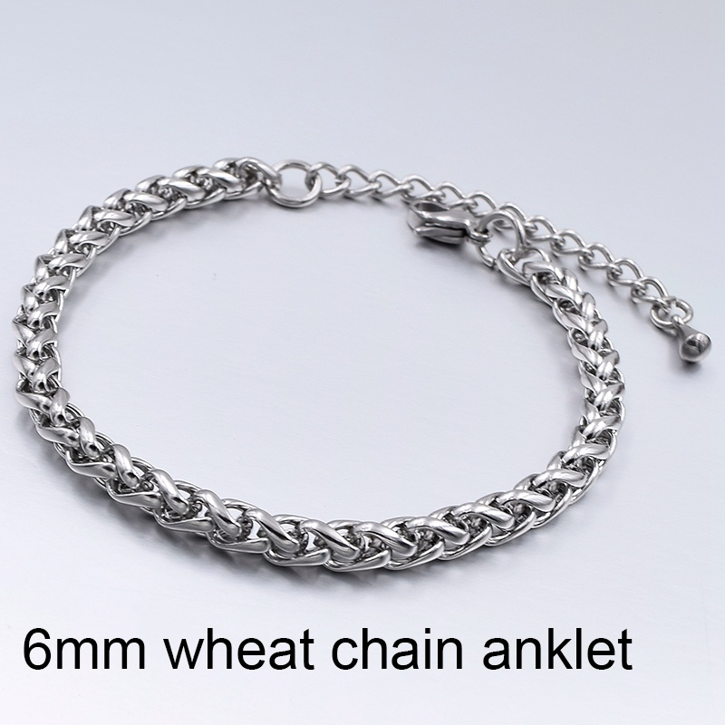 6mm Wheat Anklet