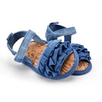 0-18 Months Baby Kids Girl Soft Sole Crib Anti-slip Solid Toddler Newborn Shoes