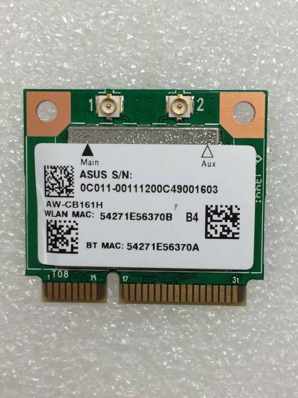 AzureWave RTL8821AE AW-CB161H  AW-CB161N 433Mbps AC  Half Mini PCIe WLAN WIFI  BlueTooth4.0 Card