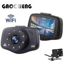New 3.0 Wifi Car Dvrs Full HD 1080P Car Dvr video Recorder 9 Lights LED 150 degree Car Camera Dash Cam Support Rear view Camera