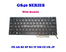 Laptop Keyboard For MSI GS30 GS32 GS40 GS43 Japan JP United States US France FR
