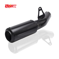 TKOSM Motorcycle Exhaust Middle Pipe Stainless Steel Muffler Link Pipe Middle Section Adapter Pipe For BWM