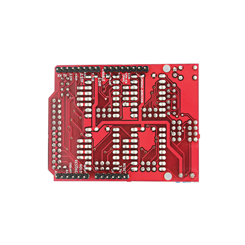 Elecrow CNC Shield V3.51 Expansion Board for Arduino 3D Print Compatible with PWM Spind Board CNC Projects Uses Pololu Drivers