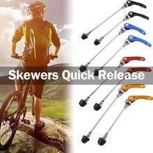 1 шт. велосипедный быстроразъемный рычаг для велосипедной ступицы колеса шампуры быстроразъемный болт рычаг комплект оси прочный велосипед MTB колесо