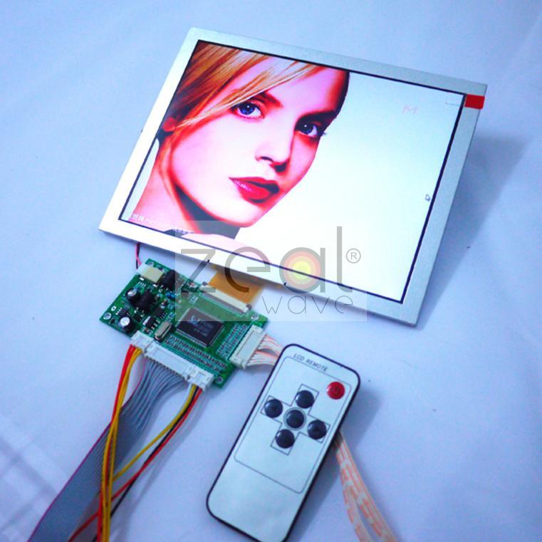 VGA+2AV+Revering Driver Board +8inch 800*600 LCD Panel EJ080NA-05B AT080TN52  Industrial, High Quality hdmi vga 2av lcd driver board 8inch 800 600 ej080na 05b replacement at080tn52