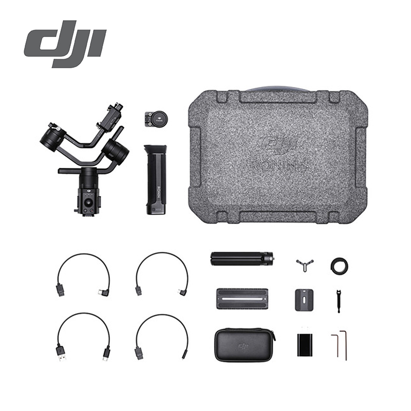 DJI Ronin S Essentials Kit Standard Kit Superior 3-Axis Stabilization Camera Control Pro Accessory Compatibility