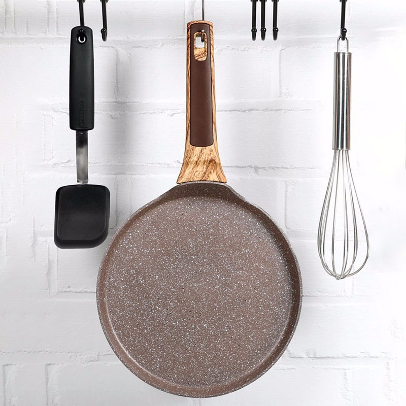 Medical Stone Non-stick Crepe Maker Frying Pan 3