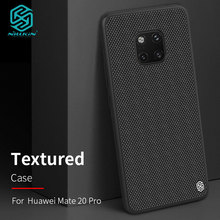 Case for Huawei Mate 20 / Mate20 Pro Nillkin Textured Nylon Fiber Back Cover for Huawei Mate 20 Pro Case