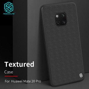 Image 1 - Case voor Huawei Mate 20/Mate20 Pro Nillkin Geweven Nylon Fiber Back Cover voor Huawei Mate 20 Pro Case