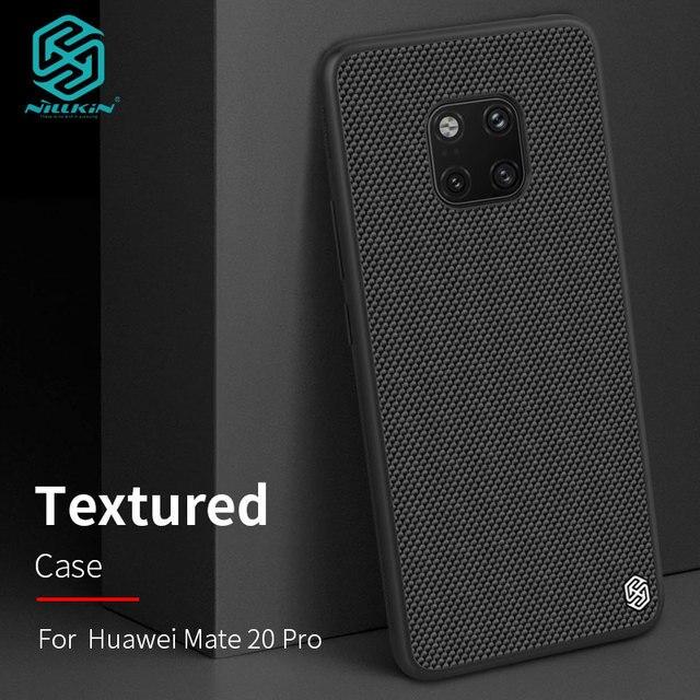 Case voor Huawei Mate 20/Mate20 Pro Nillkin Geweven Nylon Fiber Back Cover voor Huawei Mate 20 Pro Case
