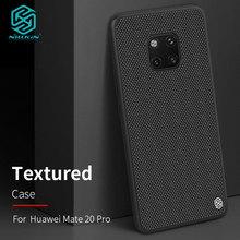 Чехол Nillkin для Huawei Mate 20 / Mate20 Pro, текстурированный нейлоновый чехол накладка из нейлона для Huawei Mate 20 Pro, чехол