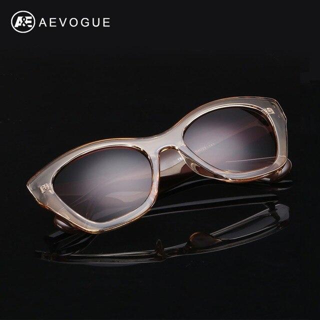 AEVOGUE Najmodniejsze Okulary dla Kobiety Luksusowe Okulary Przeciwsłoneczne Retro 2019 Motyl 1