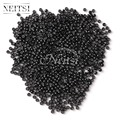 Neitsi Silicone Nano Ring Beads For Micro Loop Links Fusion Keratin Human Hair Extensions Black 500 Beads