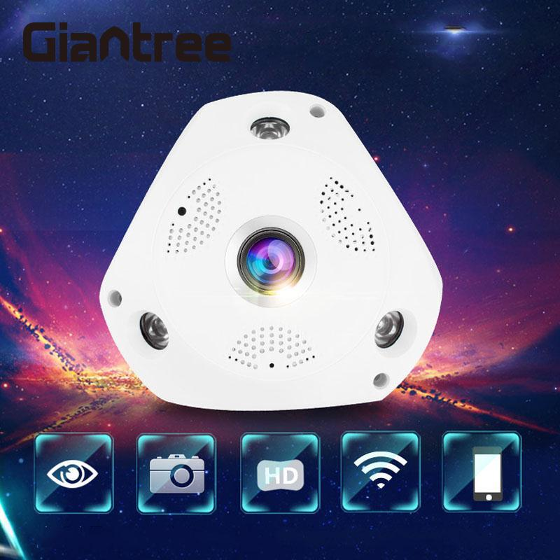 giantree 3D VR Camera FIsheye Camera 1.3MP WiFi 360 degree 3D VR Panoramic CCTV Network  ...