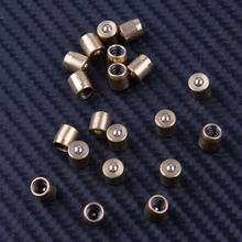 LETAOSK 20pcs 0.6x0.6cm פליז לדחוף כפתור כושר לחץ כדור אסוך פטמה להיט ומתגעגע מנוע מנוע מחרטה מיל